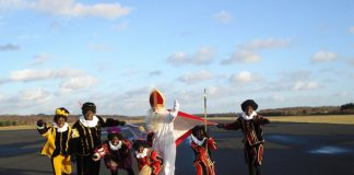 Maakt Sinterklaas een tussenlanding?