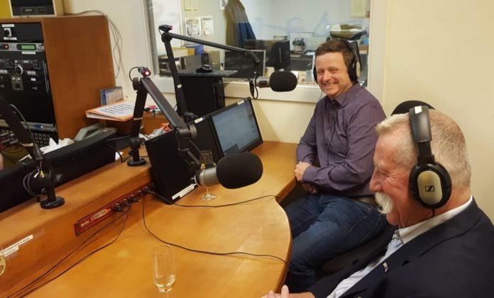 Gerben Stormbroek en Karel van Geet