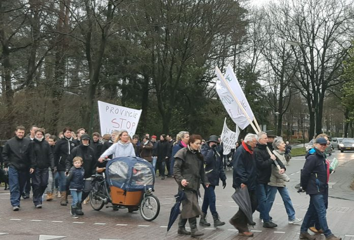 Protestmars Oude Tempel