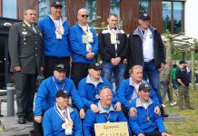 Veteranen Search Team met Inno Rutting (links voor)