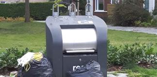 Dump vuilnis Plesmanstraat