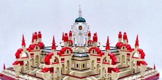 3D Doolhof van Lego
