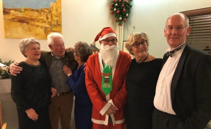 Kerst bij de Bridgeclub