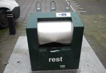 Afvalcontainers gesloten tijdens jaarwisseling