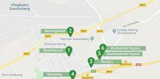 Kjoeps locaties bekend