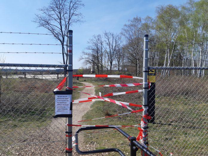 Natuurpark afgesloten