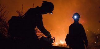 Bosbranden rondom Soesterberg