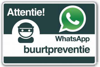 Buurtwacht en WhatsApp