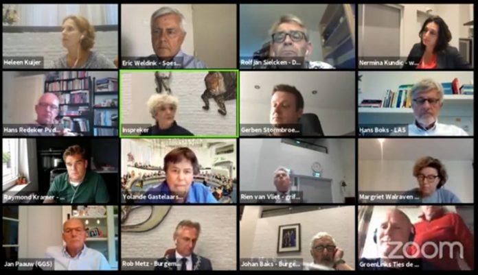 Digitale raadsvergadering Soest