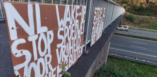 Corona Protest in Soesterberg