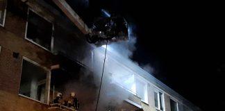 Eerste woningbrand Soesterberg