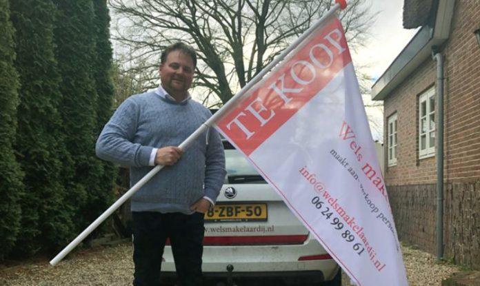 De vlag gaat uit bij Wels