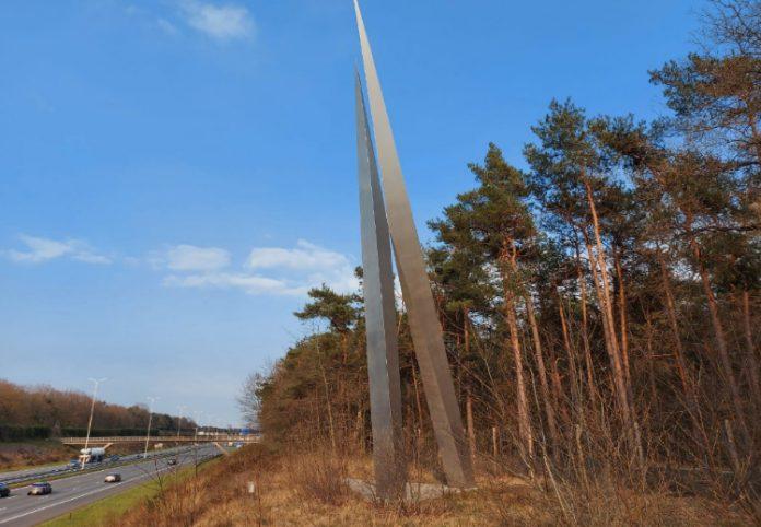 Windturbines langs de A28