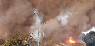 Brand bij Stuutlaan Soesterberg