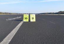 Startbaanrun klaar voor take off